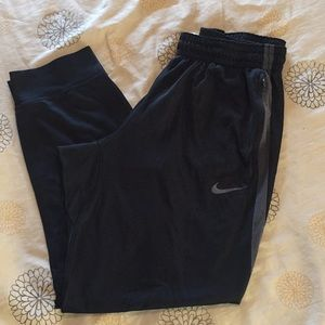 Men's Black/Grey XXL Nike Joggers